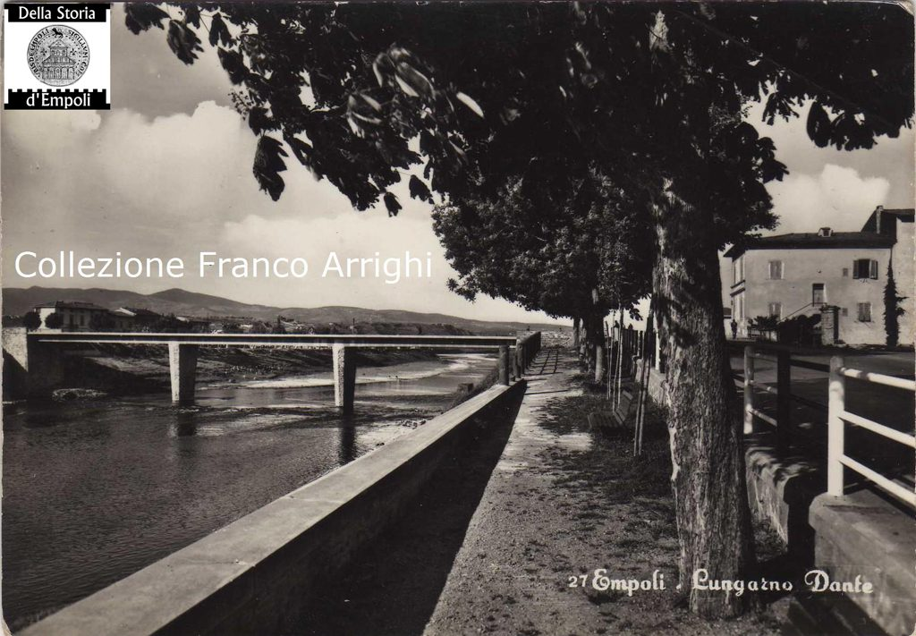 Arno, Lungarno E Ponte Nuovo Ad Empoli – Foto Di Franco Arrighi