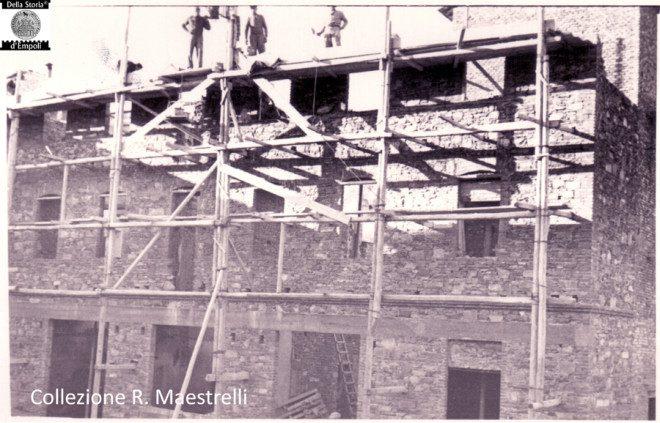 Empoli - Ricostruzione Via Marchetti incrocio Via Chiara 1949 da Roberta Maestrelli 6