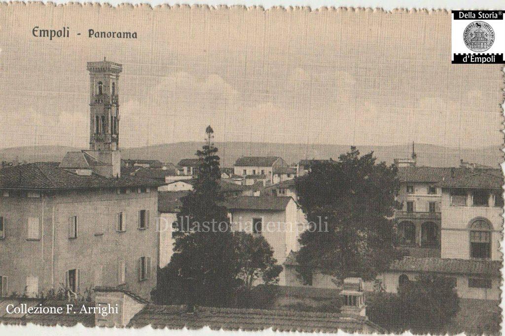 Empoli: Panorama D'epoca Con Spedale Vecchio E Campanile Di S. Agostino, Collezione Franco Arrighi