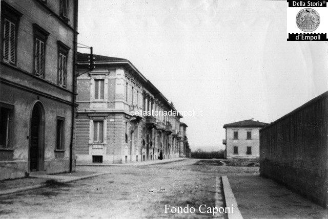 Empoli Via Giovanni da Empoli incrocio con via tripoli