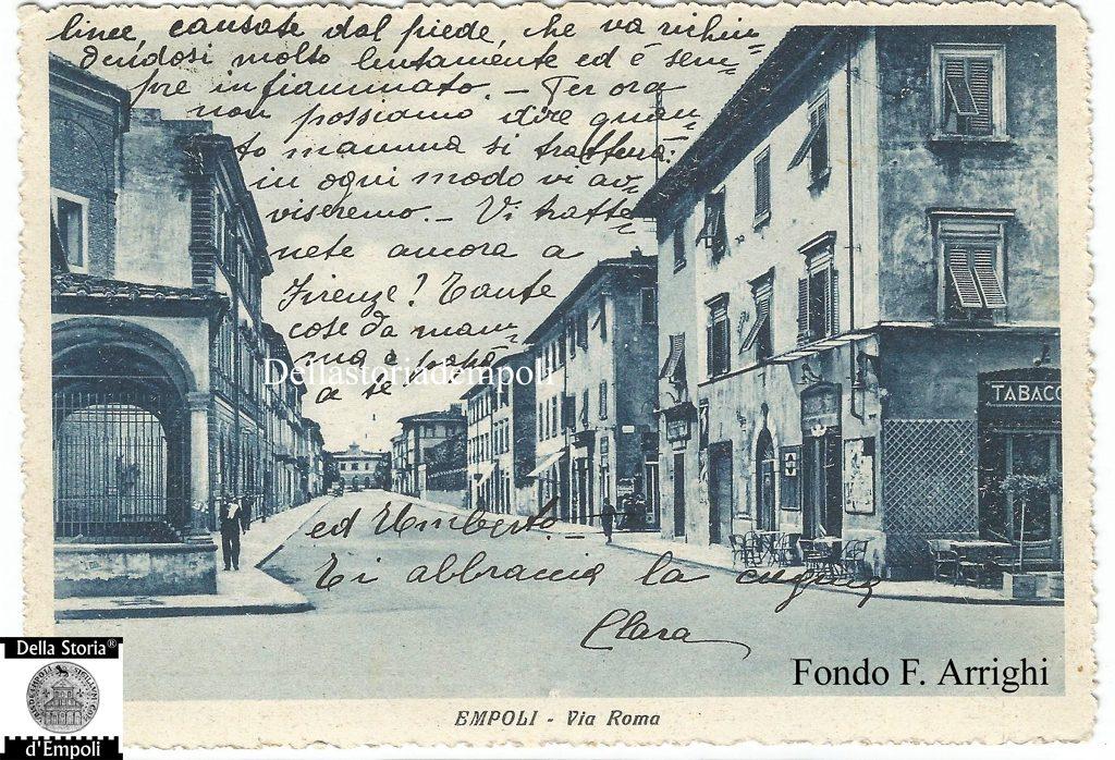 L'innesto Di Via Roma Con Piazza Della Vittoria Avanti La 2° Guerra Mondiale – Di Franco Arrighi