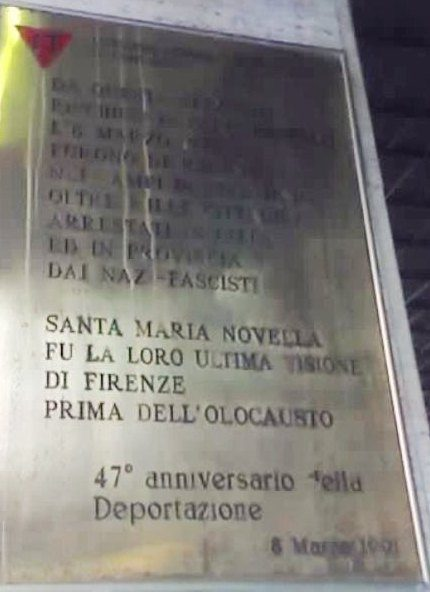 FS Stazione SMN 15 Deportazioni. Binario 6
