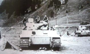 Foto n. 1 - Tigre della Kompanie Meyer al Brennero.