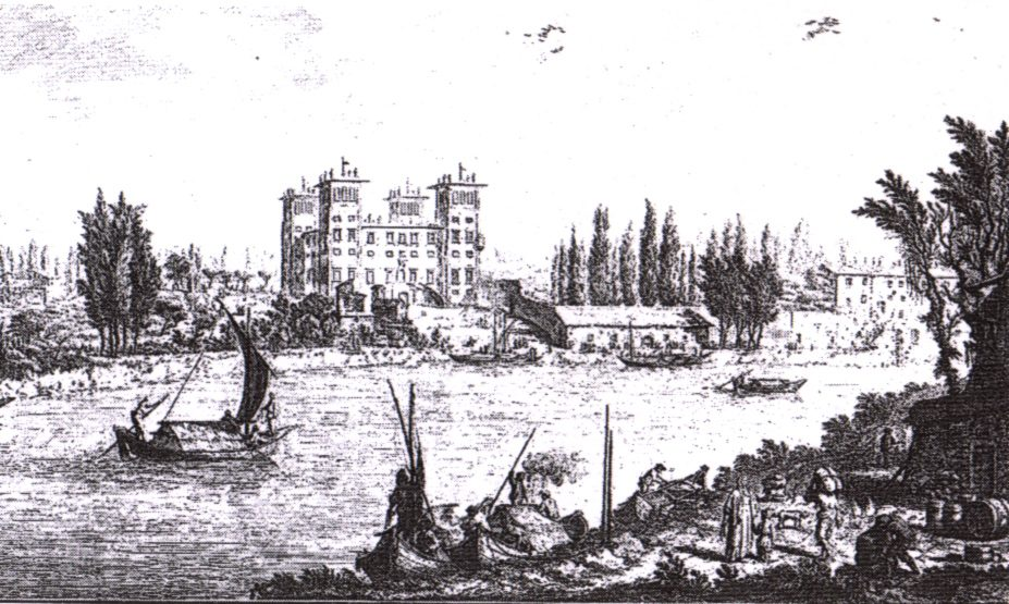 Giuseppe Zocchi Villa Dellambrogiana