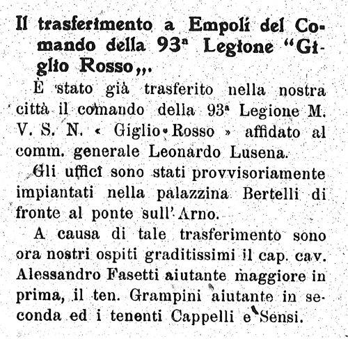 Il Piccolo – 7 Febbraio 1926