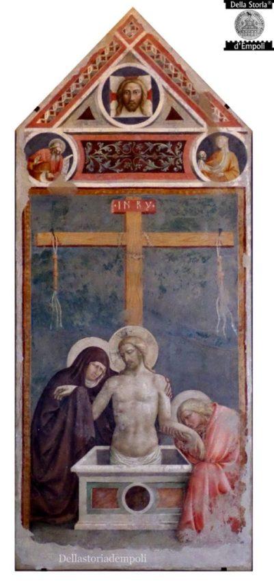 Masolino da Panicale - Cristo in pietà, 1424 ca.