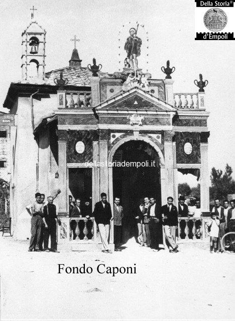Fondo Caponi Empoli, Vol 1 Pagina 33: Oratorio Di S. Rocco, Via Leonardo Da Vinci E L'ex Ginnasio