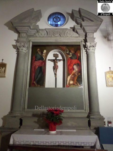 Pala di San Michele e San Giovanni del Pontormo nella chiesa San Michele a Pontorme