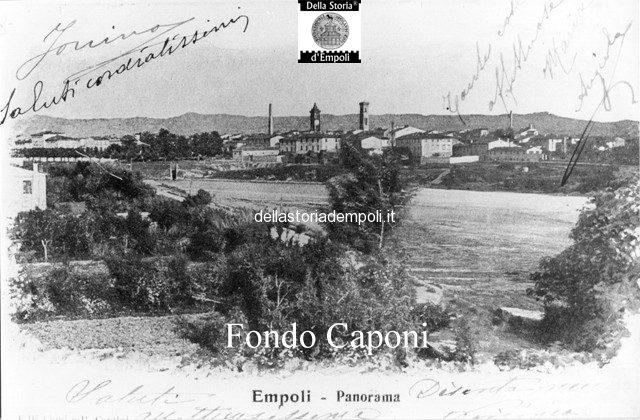 Panoramica di Empoli sull'Arno