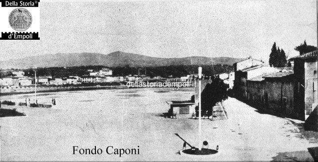 Fondo Caponi Empoli, Vol 1 Pagina 25: Dal Piaggione, Alla Piazza Della Stazione E Sull'Arno…