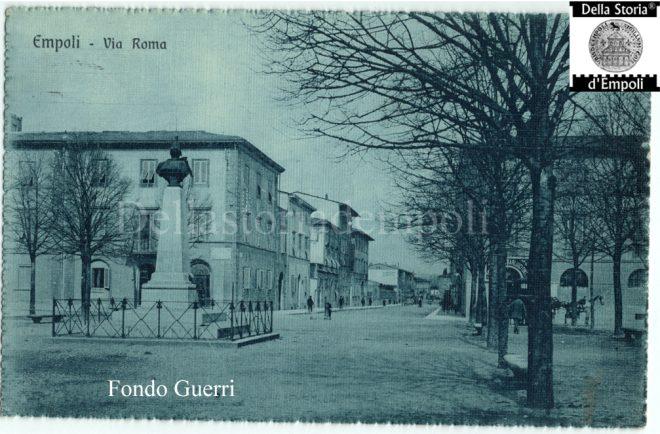 Piazza della Stazione - Foto del Fondo Guerri