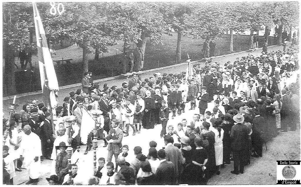 Empoli, 1924: Processione Venticinquennale Del SS. Crocifisso