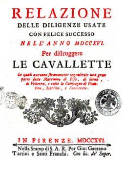 Relazioni delle diligenze 1716