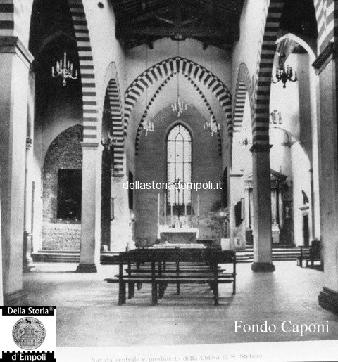 Fondo Caponi Empoli, Vol 1 Pagina 9: S. Agostino, Via Del Giglio, Clinica Pagliai E Biblioteca
