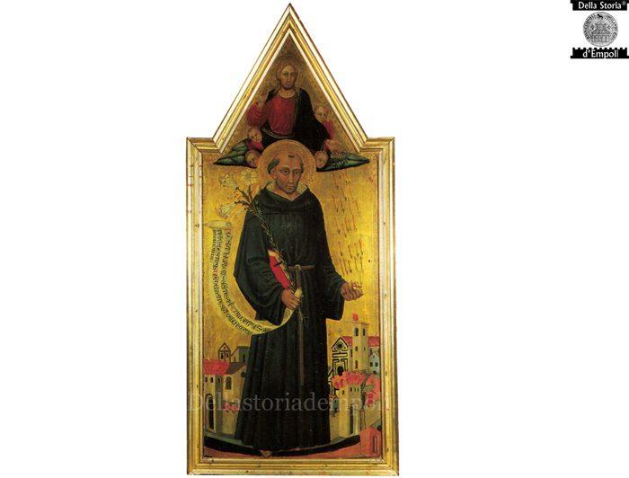 San Nicola Da Tolentino Che Protegge Empoli Dalla Peste, 1445 – Bicci Di Lorenzo