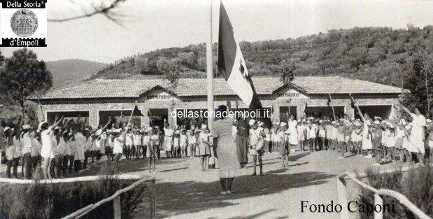 Fondo Caponi Empoli, Vol 2 Pagina 18: Vinci, Inaugurazione Colonia Elioterapeutica Nel 1939