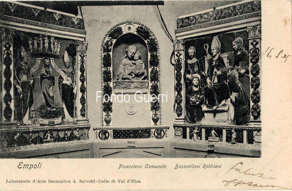 Monsignor Gennaro Bucchi Sulle Opere D'arte D'Empoli, Nel 1897