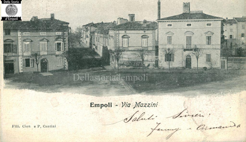 Piazza Guido Guerra E Via Mazzini, Tanti Anni Fa – Fondo Guerri