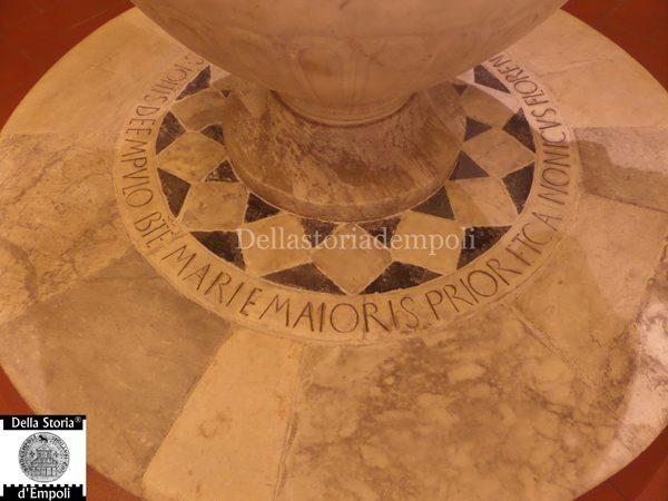 Fonte Battesimale Bernardo Rossellino (4)
