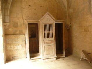 il confessionale della chiesa - Foto di C. Biscarini