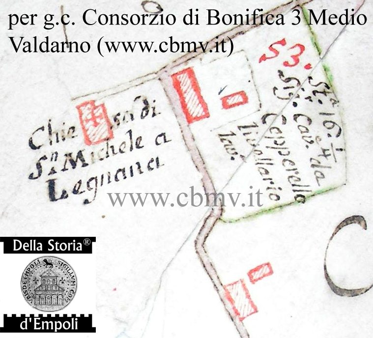 San Michele A Legnana, Chiesa Non Più Esistente Tra Il Ponterotto E Fibbiana.