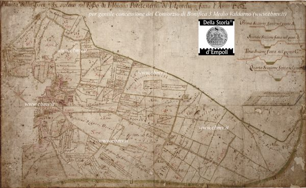 mappa n 11 Imposizione Fibbiana 1762