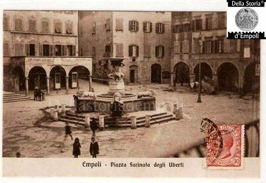 Piazza Farinata 1910
