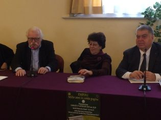 Giuliano Lastraioli, I Prof. Anna Benvenuti E Mauro Guerrini