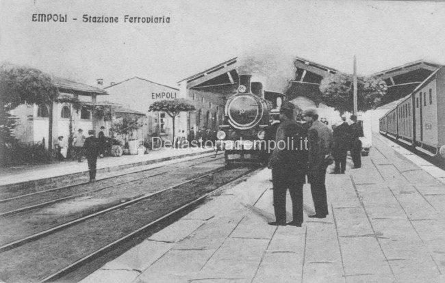 La Prima Struttura Della Stazione Ferroviaria Di Empoli