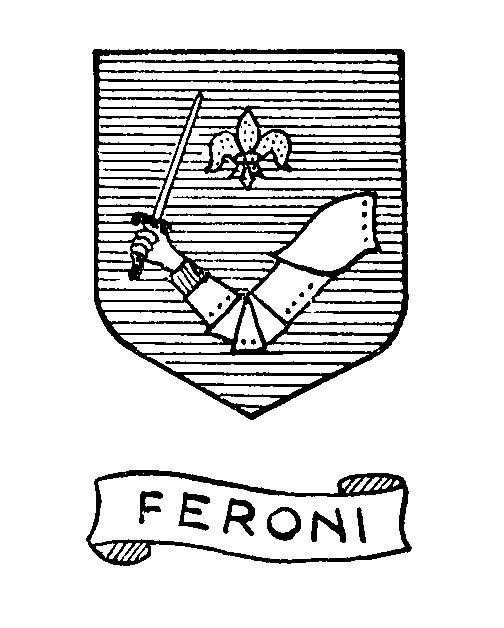 Stemma Famiglia Feroni O Ferroni