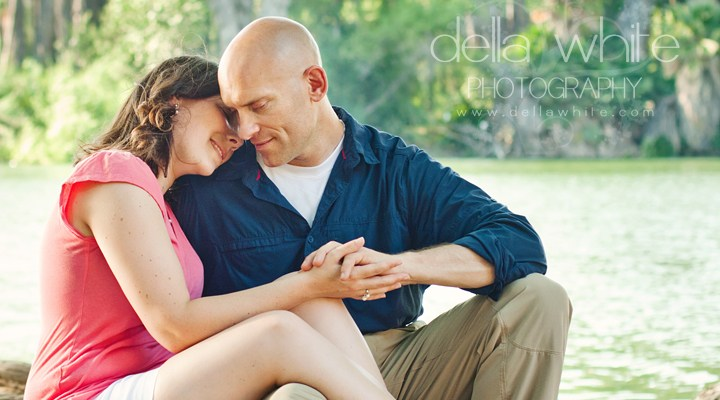 Riverside Wedding Photographer ~ Engagement Session at Fairmount Park: Rhonda and Trace (and Hunter!)