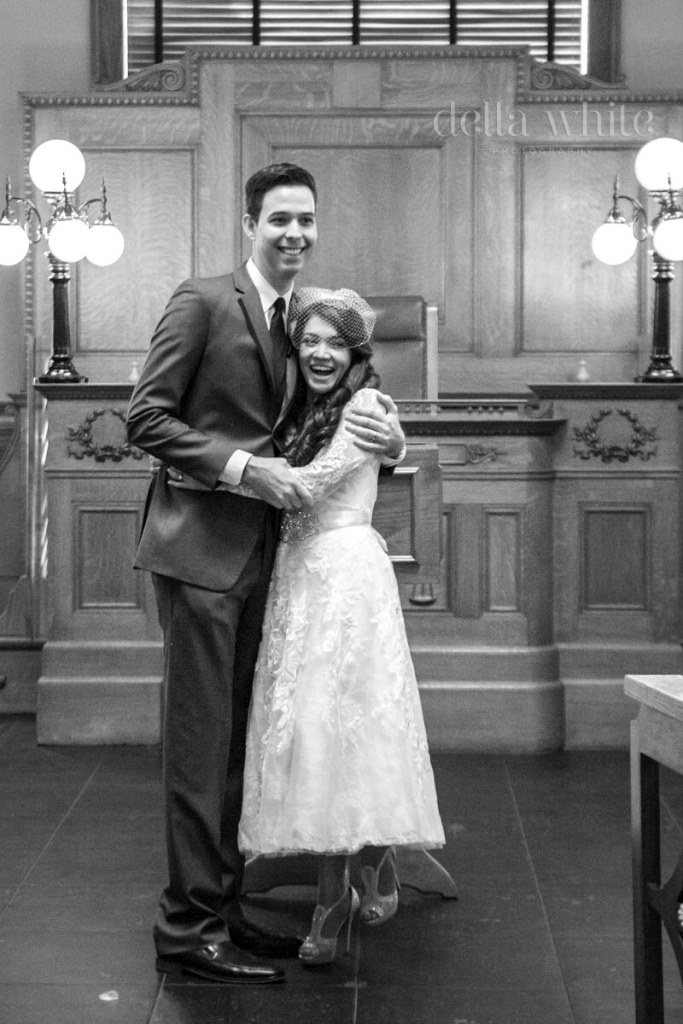 wedding photography in old orange county courthouse