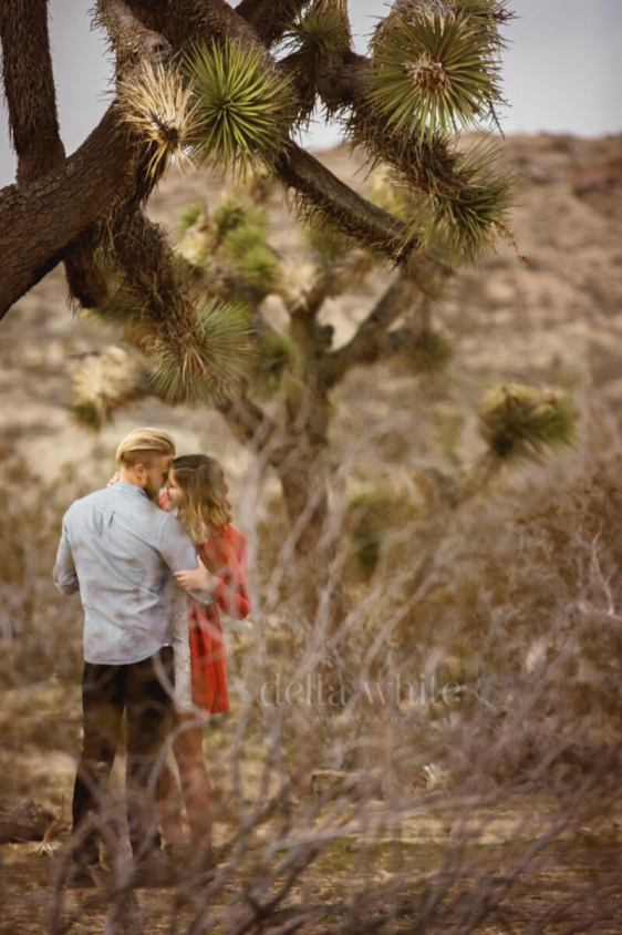 joshua tree engagement session
