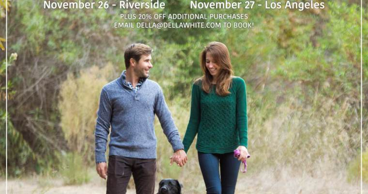 Mini Sessions in Riverside and Los Angeles!