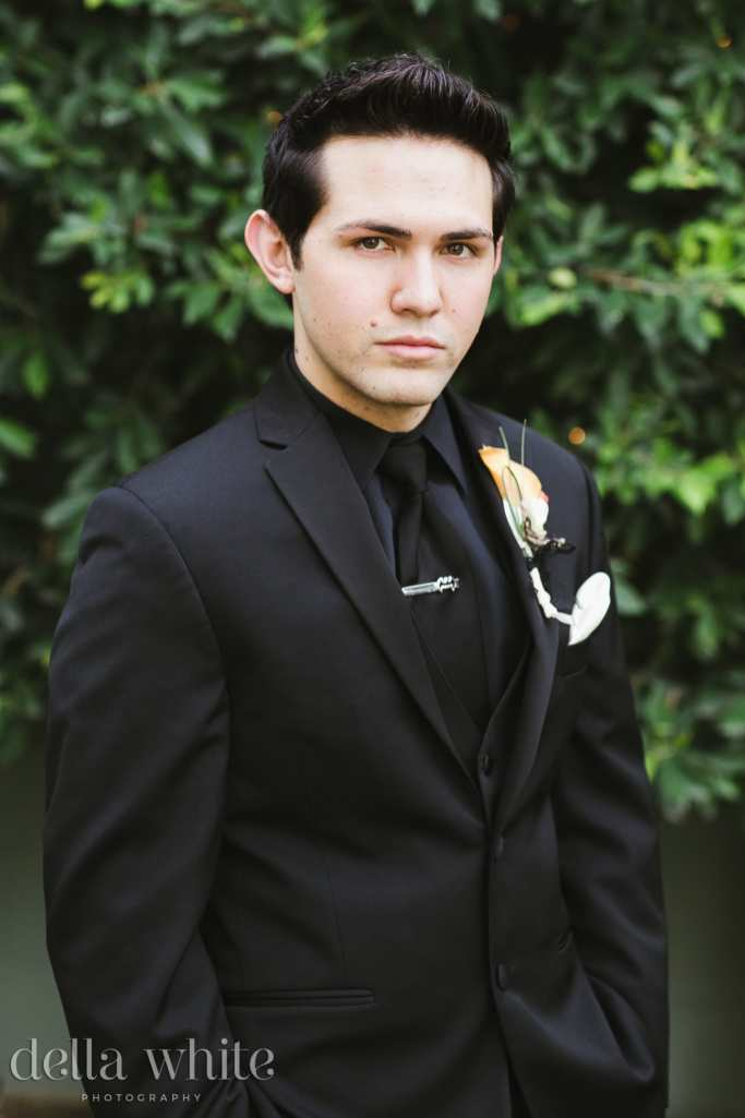 groom portrait in rancho cucamonga