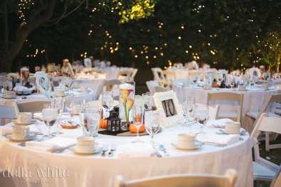 table decor wedding reception