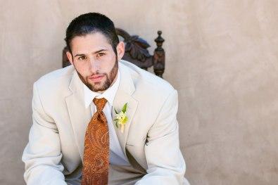 groom solo photo