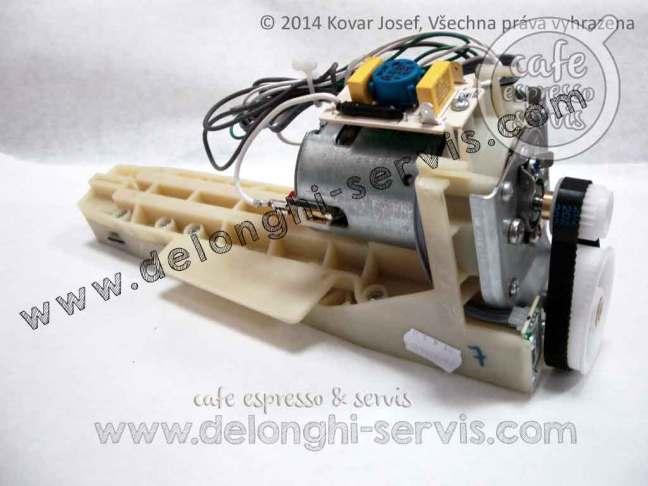 Převodovka a motor pohonu spařovací jednotky ESAM Magnifica, Perfecta, PrimaDonna