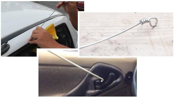 Otvaranje vrata automobila