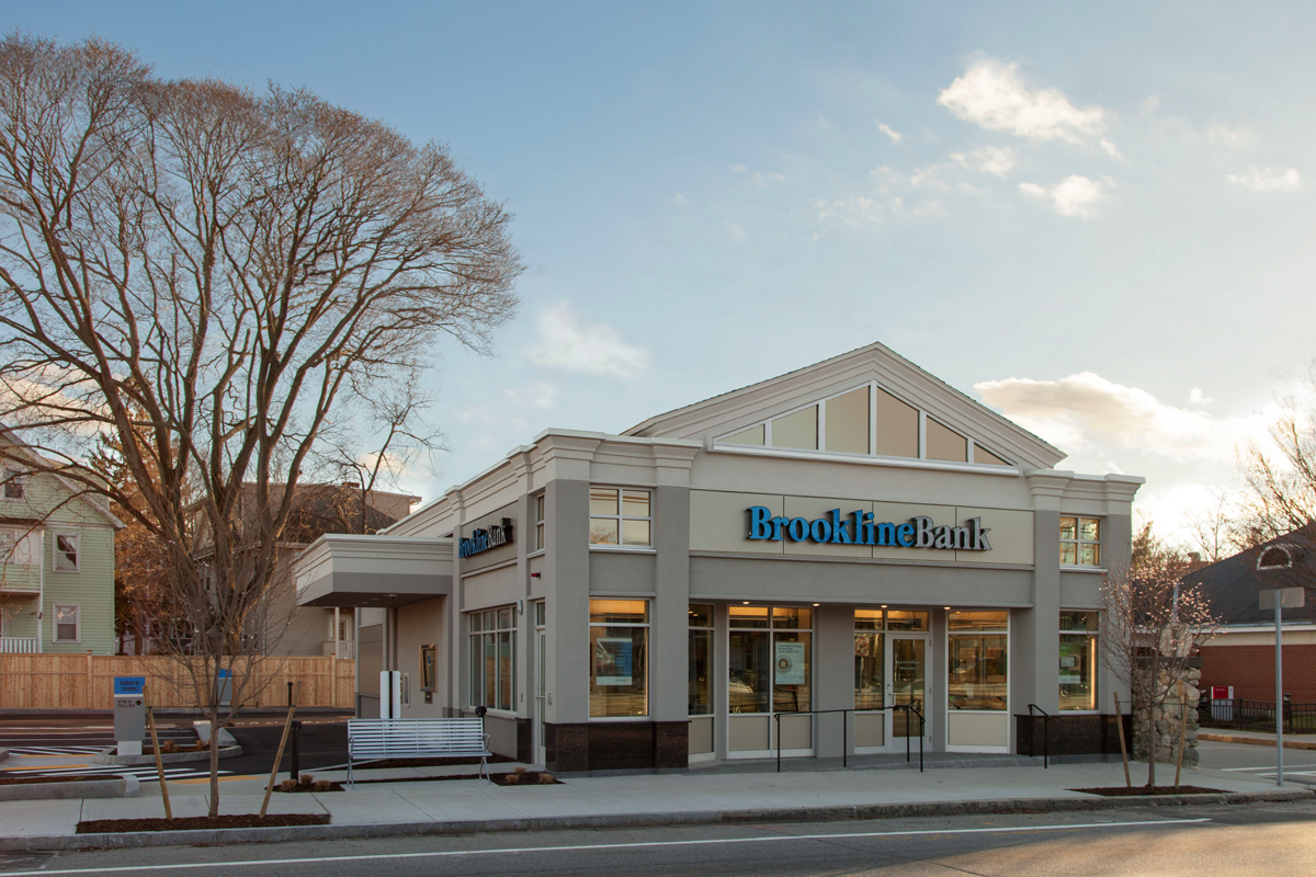 Brookline Bank, renovation