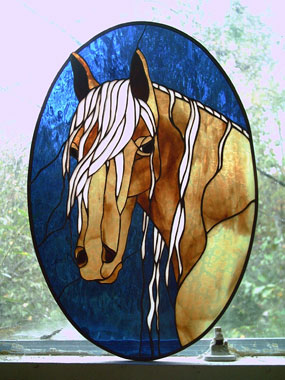 Stained Glass Horse Patterns Animals Delphi Animals