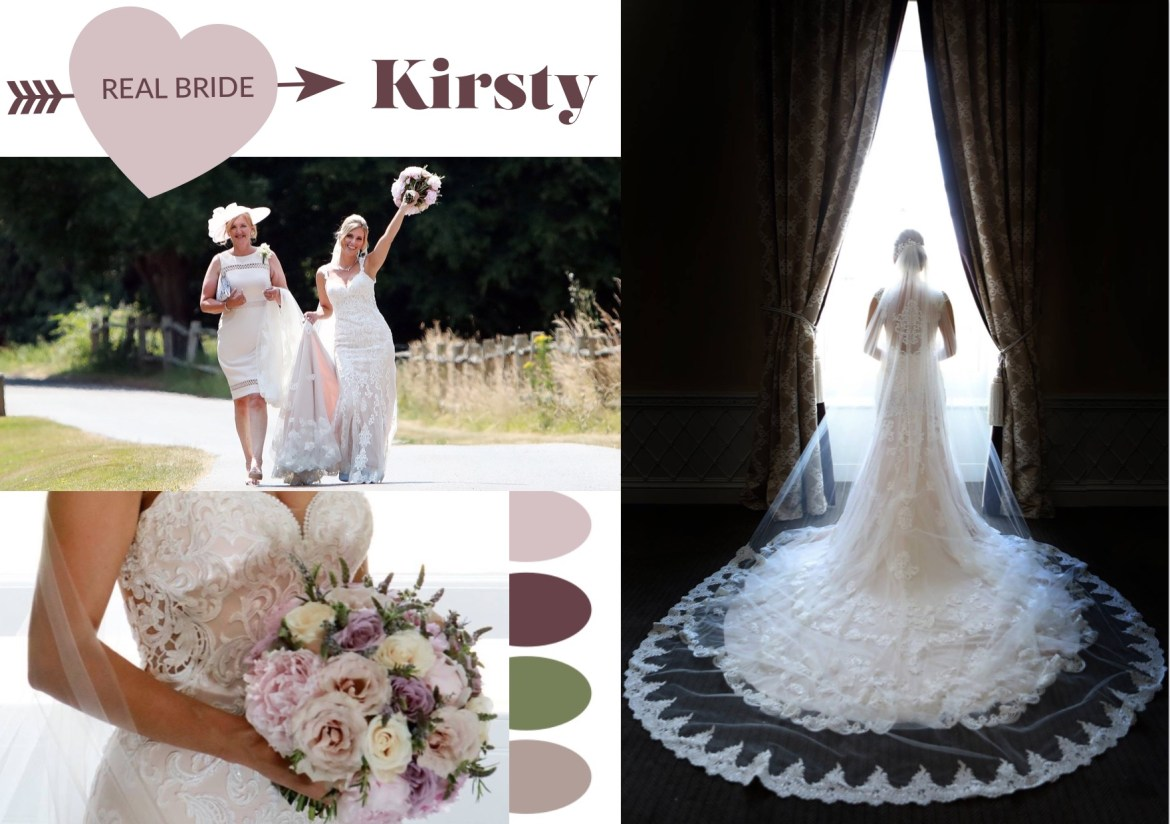 Delphine Couture Real Bride Kirsty