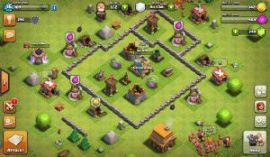 Farming configuration in Clash of Clans