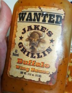 Jake's Grillin Buffalo Wing Sauce
