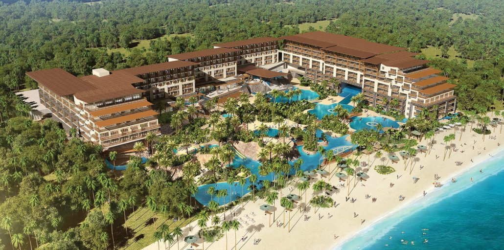Render of Now Natura Riviera Cancun