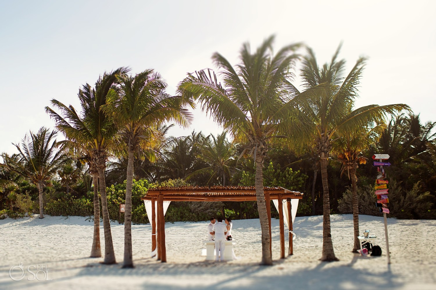 Best beach in Mexico for elopements Secrets Maroma Adults only Resort