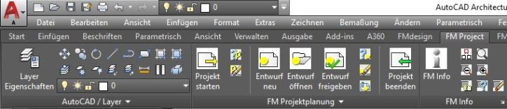 Registerkarte FMdesign Project