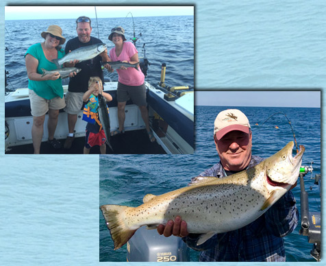 Little Bays de Noc Fishing Charter Rates