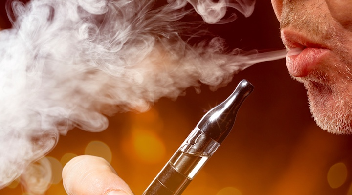 "E-cigarettes are coined as the ""healthier cigarette."" But are they really all that healthy?"