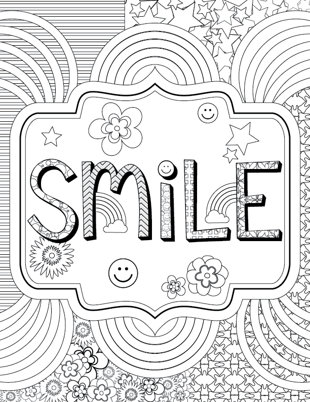 Adult Coloring for Kids at Heart + PRINTABLE PAGES! - Delta Dental ...